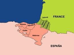 карта баски