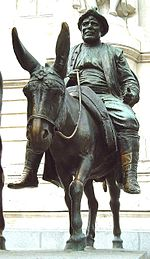 памятник статуя санчо пансы в мадриде