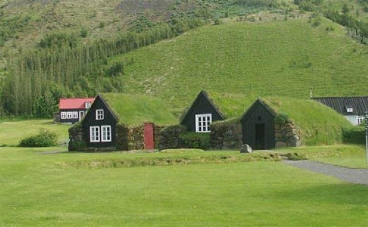 исланд дома