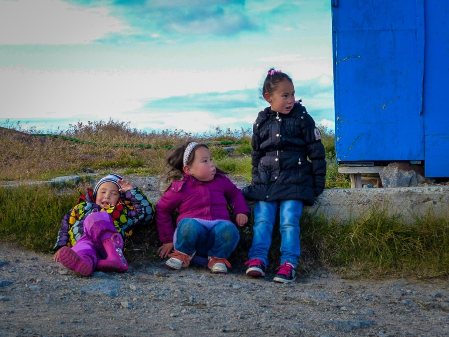 эскимосскме дети