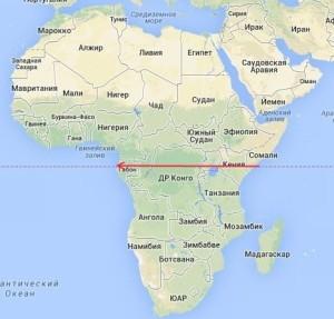 африка-карта-300x287