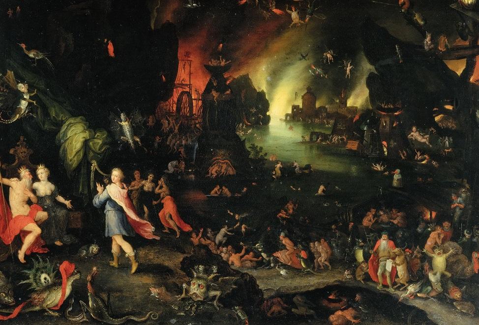 ян брейгель орфей в аду