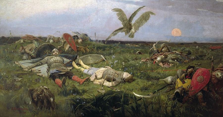 васнецов вм после побоища Игоря Святославича с половцами