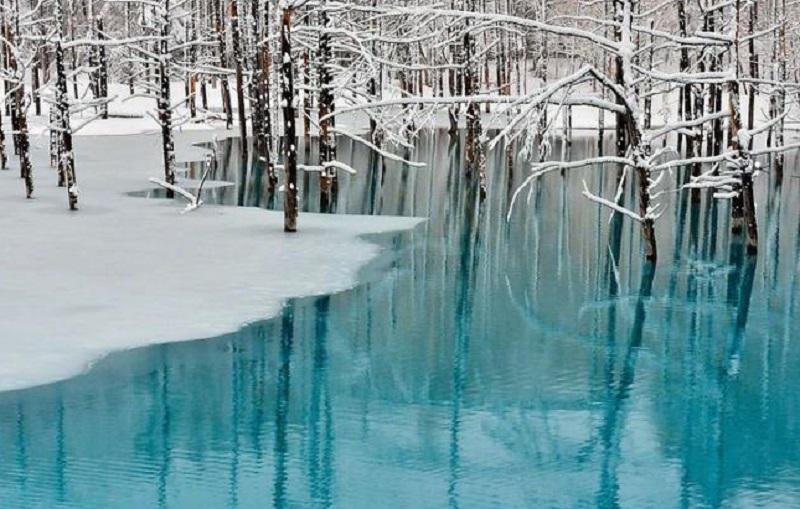озеро на хоккайдо