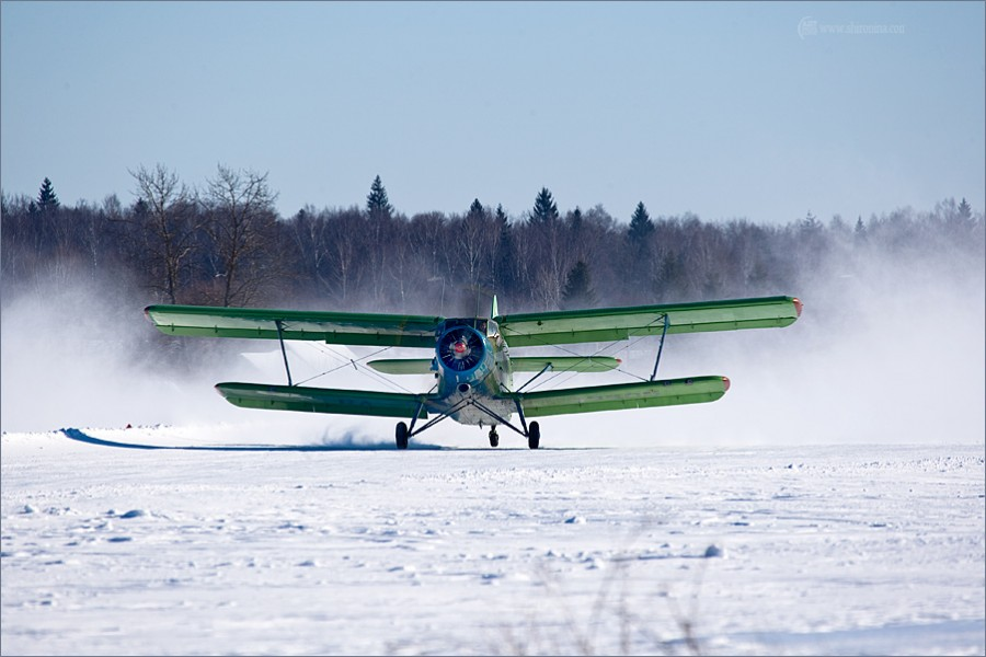 посадка ан-2