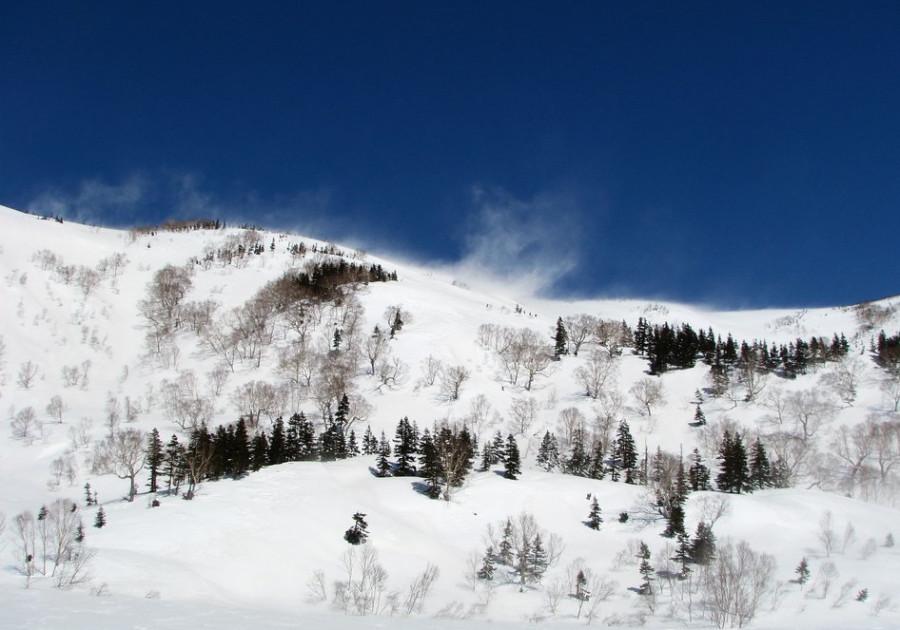 март в горах