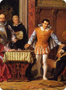 Рюи Лопес и Джованни Леонардо - сильнейшие игроки XVI века.