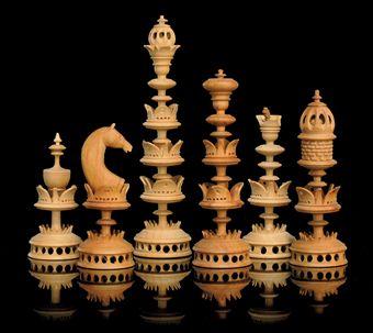 Немецкие шахматы 19 век