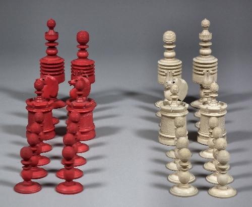 Поделка из шахмат
