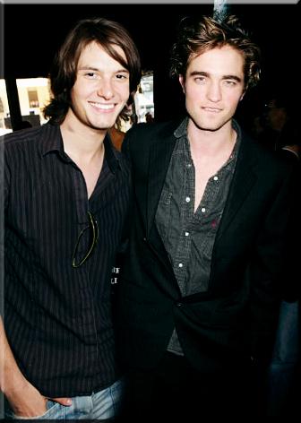 Ben Barnes and Robert Pattinson