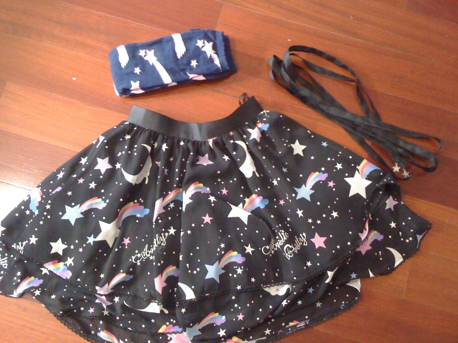 DS: Dream Sky Black Skirt and Shooting star OTKs - Angelic ...
