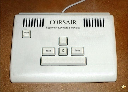 Pirate Keyboard