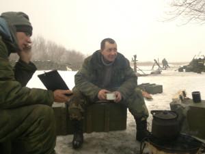 Киса, скажите, как артиллерист минометчику- вы стрелять умеете? А по Еленовке?