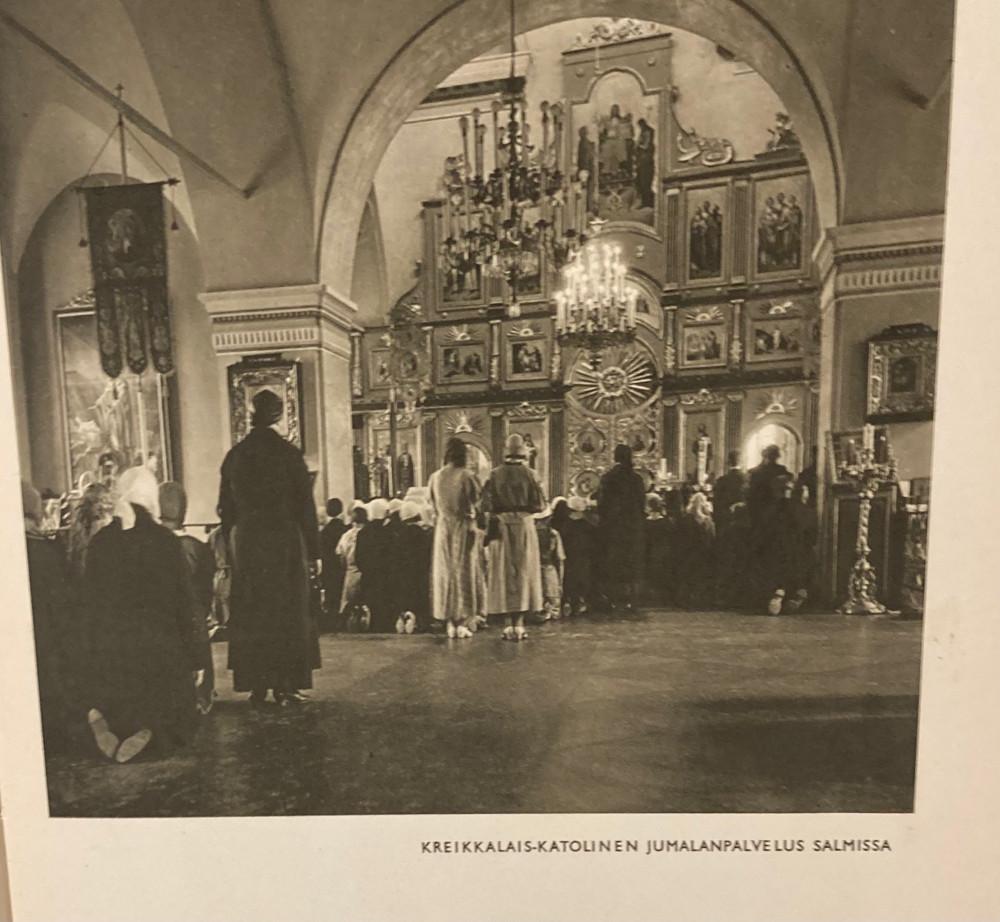 Греко-католическое богослужение в Салми