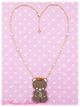 porter bear necklace
