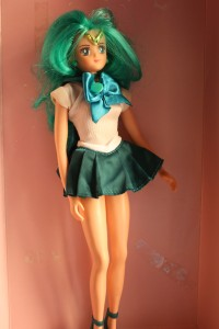Sailor Neptune 11.5 inch doll - $30