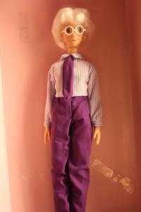 Professor Tomoe 11.5 inch doll - $15