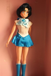 Sailor Mercury 11.5 inch doll - $12