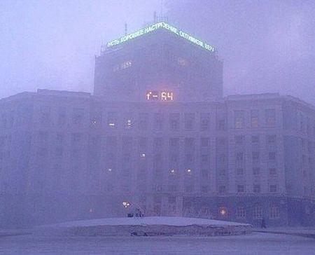 Мороз минус 64 Норильск январь 2014_2_450