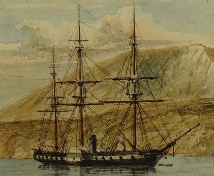 HMS «Retribution».