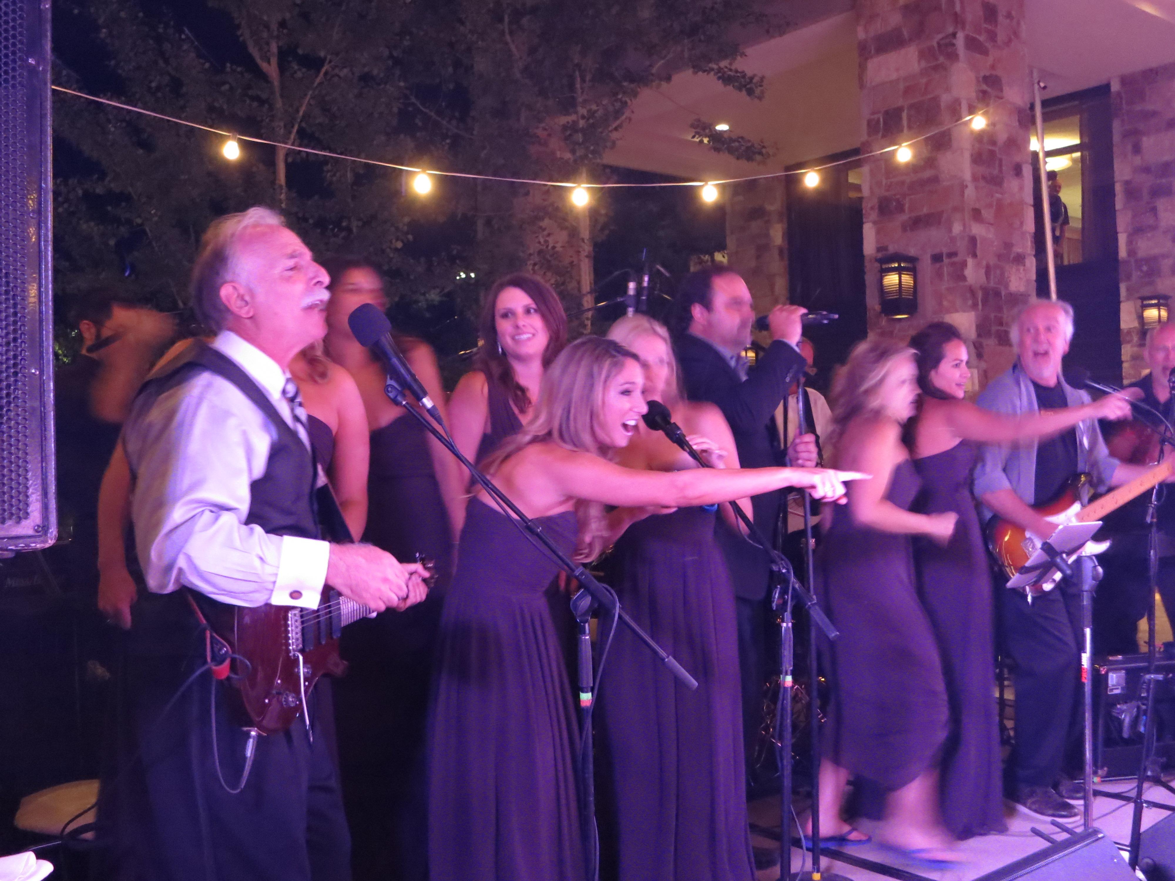 band-bridemaids