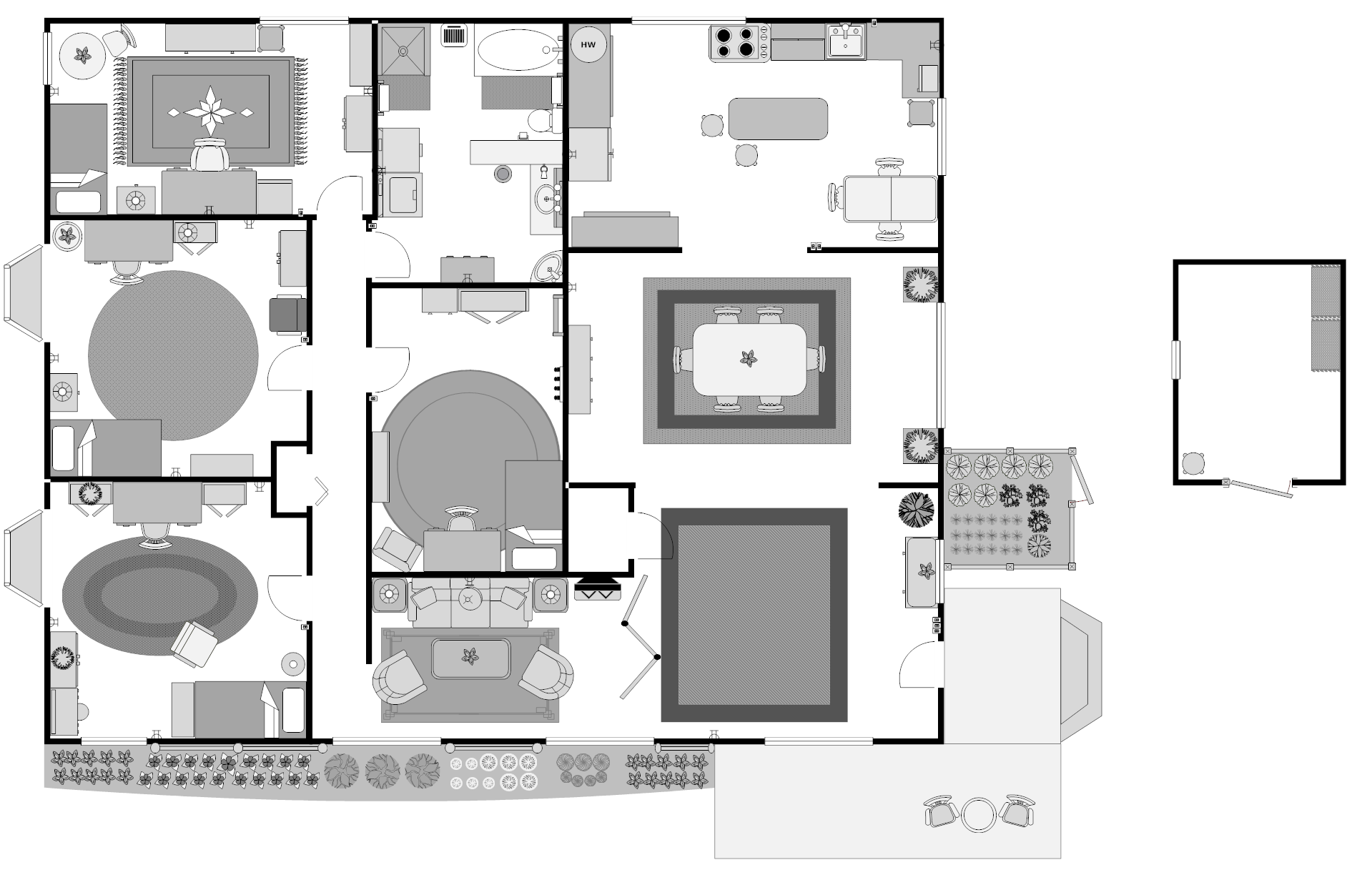 House 42 Floor Plan Post Electricity Chikaidestroyer