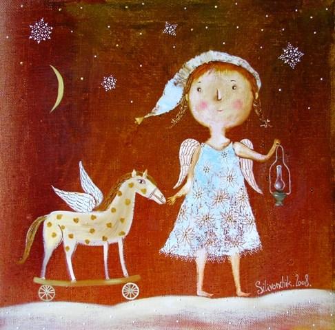 Рождественский ангел Силивончик