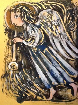 Герасимова Д. Играет ангел на трубе