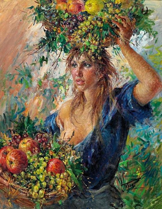 Кто этот художник и что это за картина?