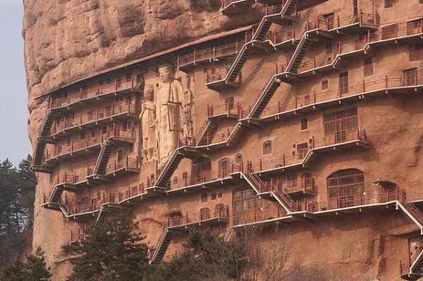 Буддийский комплекс Майцзишань_3