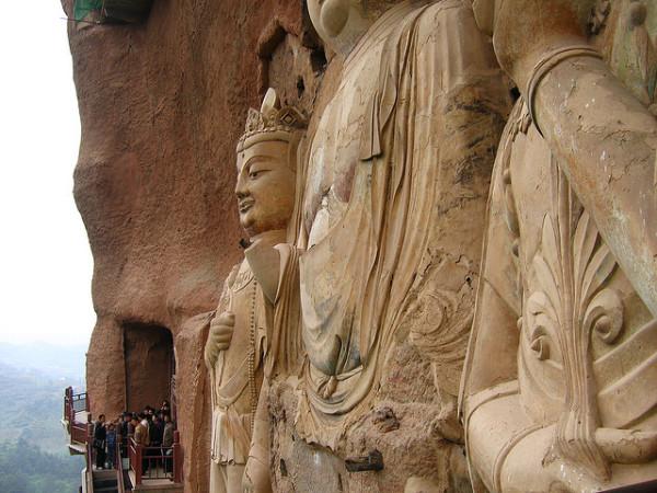 Буддийский комплекс Майцзишань_2