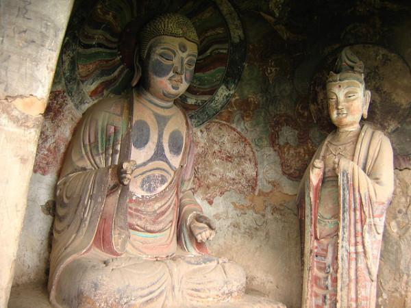 Буддийский комплекс Майцзишань_10