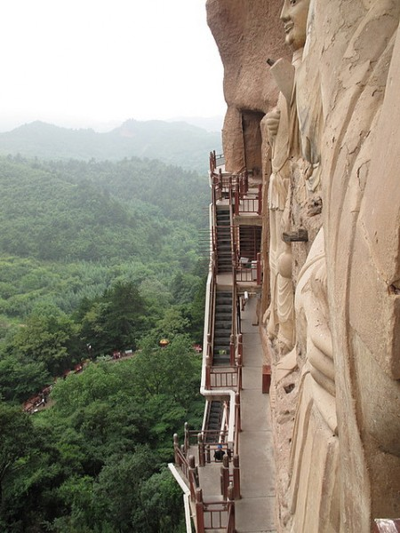 Буддийский комплекс Майцзишань_4