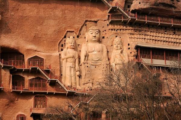Буддийский комплекс Майцзишань_8