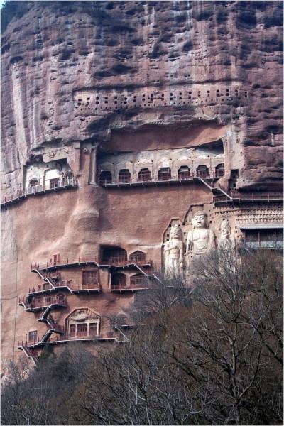 Буддийский комплекс Майцзишань_9