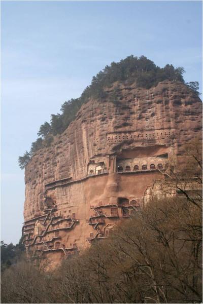Буддийский комплекс Майцзишань_1