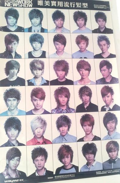 Китайские прически мужские на фото