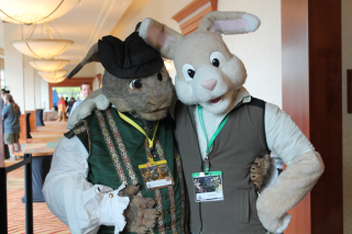 Bunny pals.