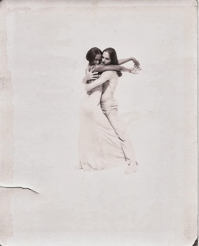 Joaquin Cortes y Naomi Campbell