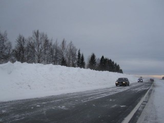 трасса пермь березники фото снег