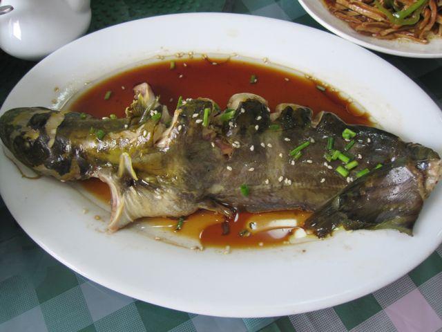 Рыба в соевом соусе