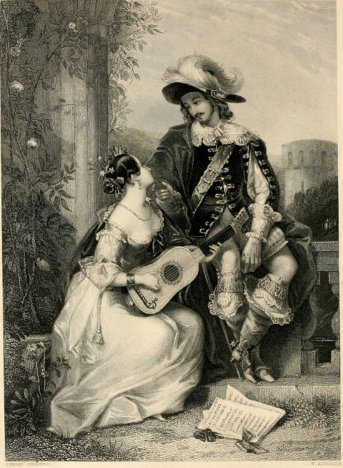 Amor-The gallery of engravings (Volume 1) 1848