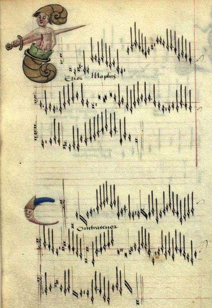 Chansons d'Amour - также известный как The Copenhagen Chansonnier Thott 291 8 - поздний XV век