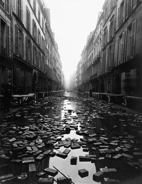 The Paris Library floods (1910)