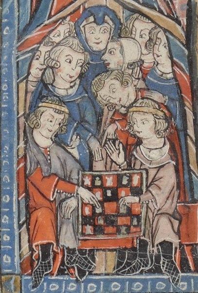 Français 2824, fol. 94v. XIII c.