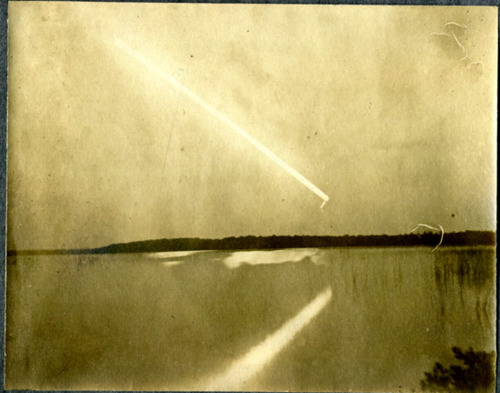 Unknown Comet - Photograph No. 1