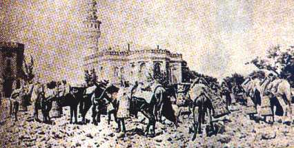 Beyazit Square after the quake of 1894