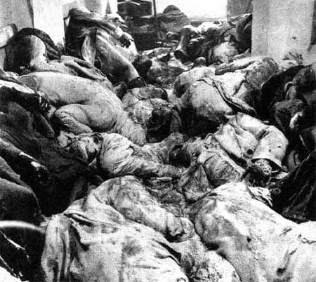 Дрезден 1946 Рівні бункера викопали 1 рік після бомбардування.