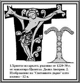 Вилочковый крест 2