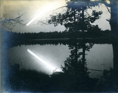 Unknown Comet - Photograph No. 2